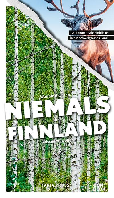 """Cover """"Was Sie dachten, niemals über Finnland wissen zu wollen"""" ©Conbook-Verlag"""