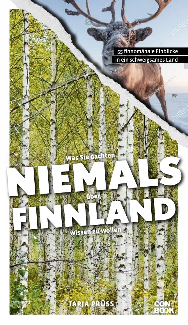 Cover Conbook: Was sie dachten, niemals über Finnland wissen zu wollen